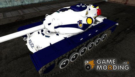 Шкурка для T110E5 Police for World of Tanks