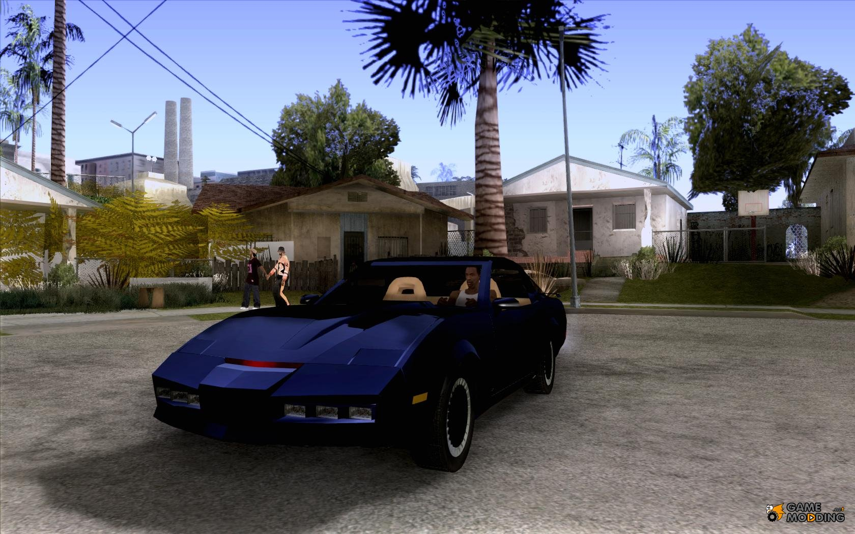 1989 pontiac firebird k i t t knight industries two thousand for gta san andreas. Black Bedroom Furniture Sets. Home Design Ideas