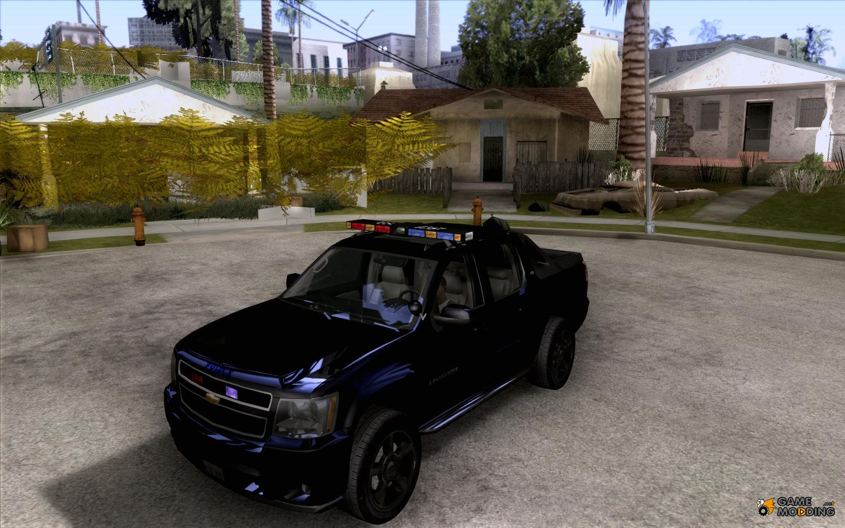 Chevrolet Avalanche Police for GTA San Andreas Gta San Andreas Police Cars