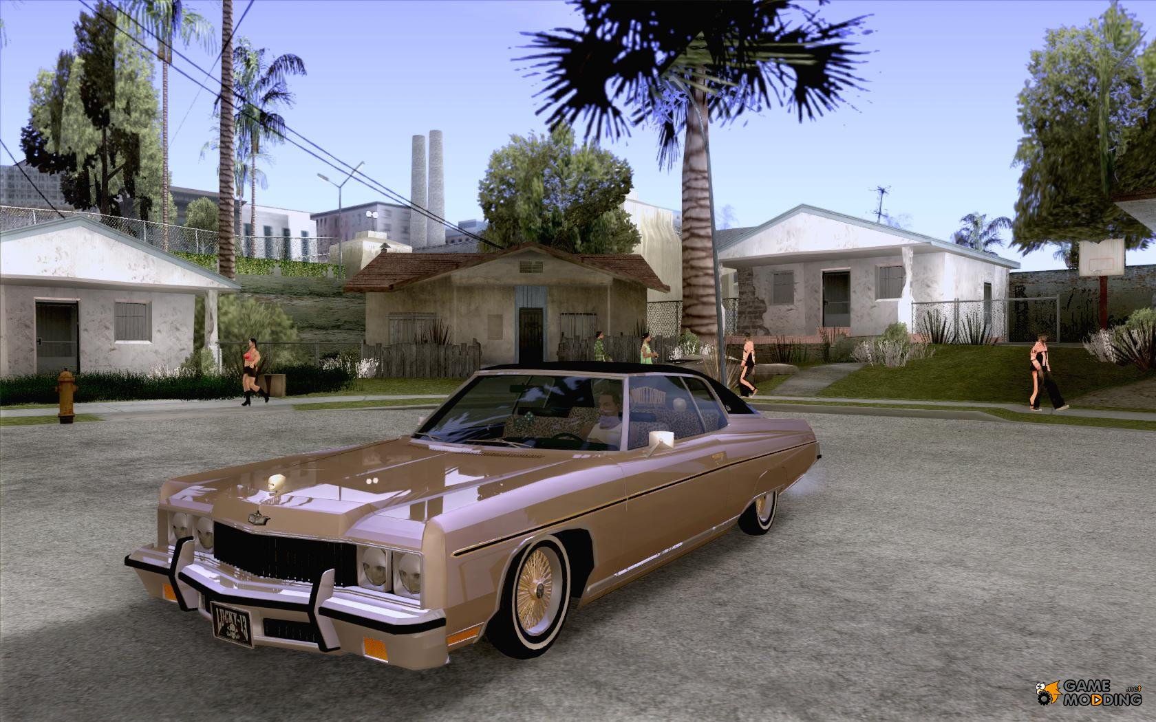 Chevrolet Caprice Classic Lowrider For Gta San Andreas