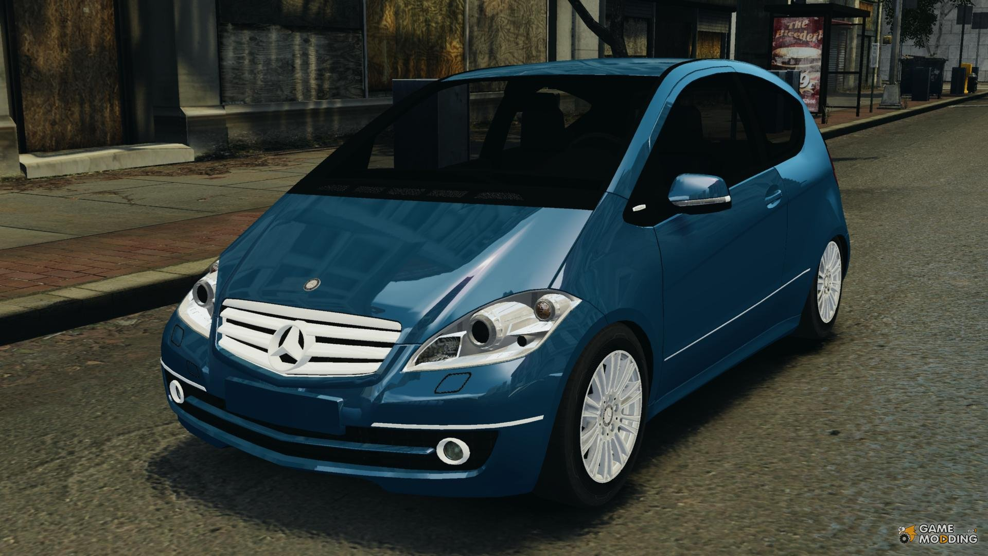 Mercedes Benz A200 Turbo 2009 For Gta 4