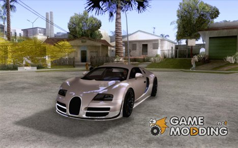 Bugatti Veyron for GTA San Andreas