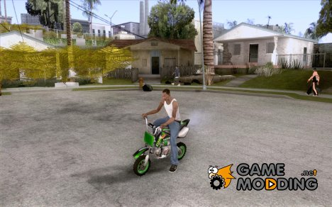 Kawasaki PitBike for GTA San Andreas