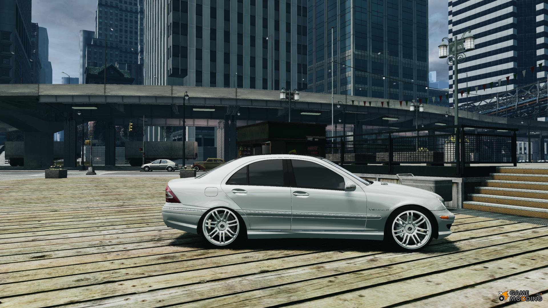 Mercedes benz c32 amg light tuning for gta 4 for Mercedes benz lighting
