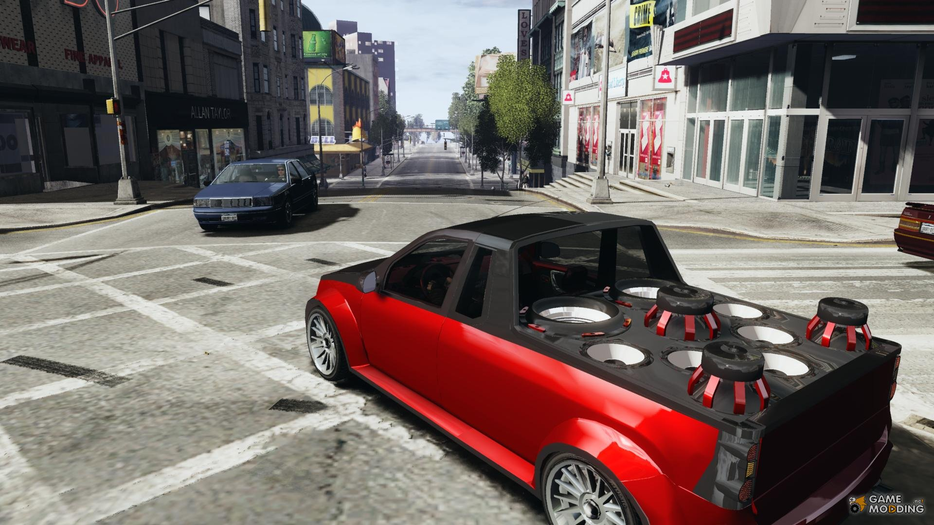 dacia pick up car tuning for gta 4. Black Bedroom Furniture Sets. Home Design Ideas
