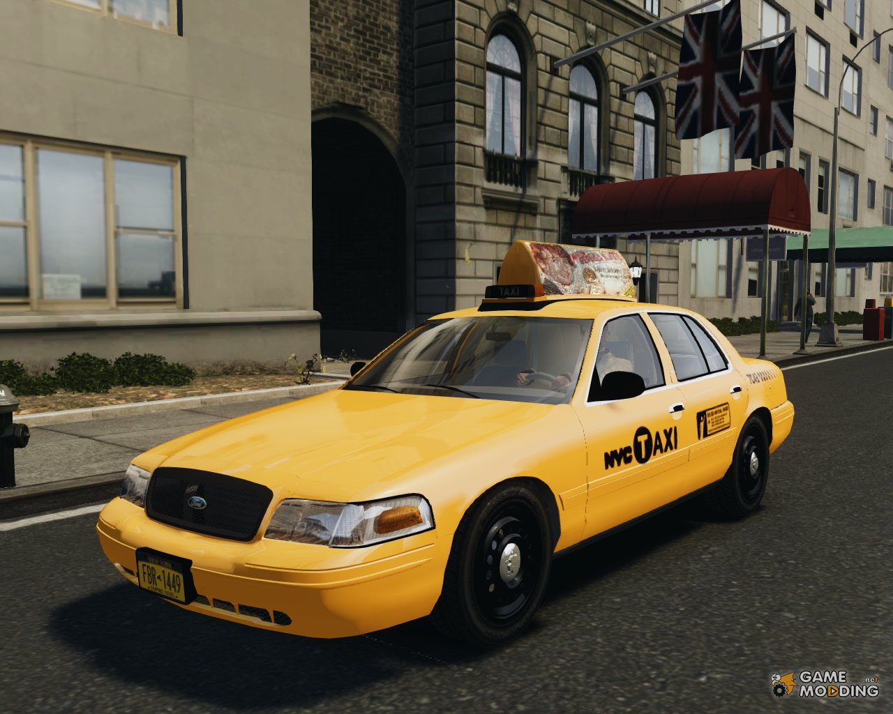 Ford Crown Victoria Nyc Taxi  For Gta