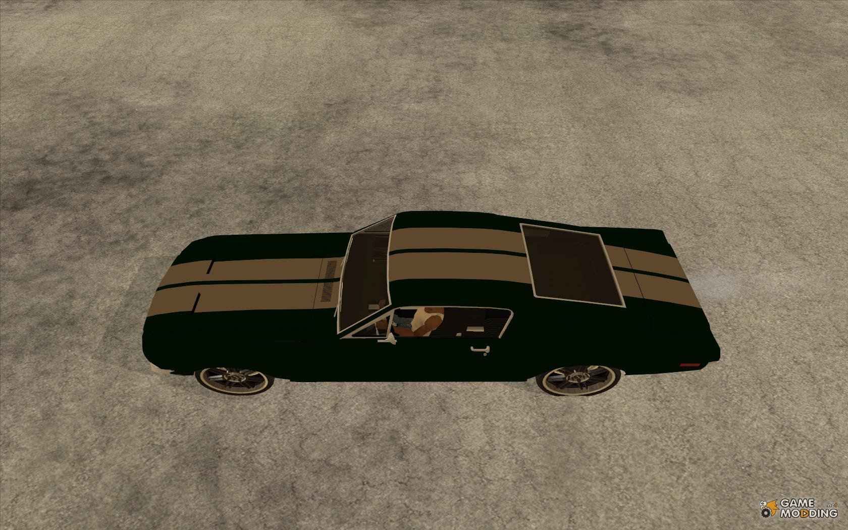 Ford mustang tokyo drift for gta san andreas left view