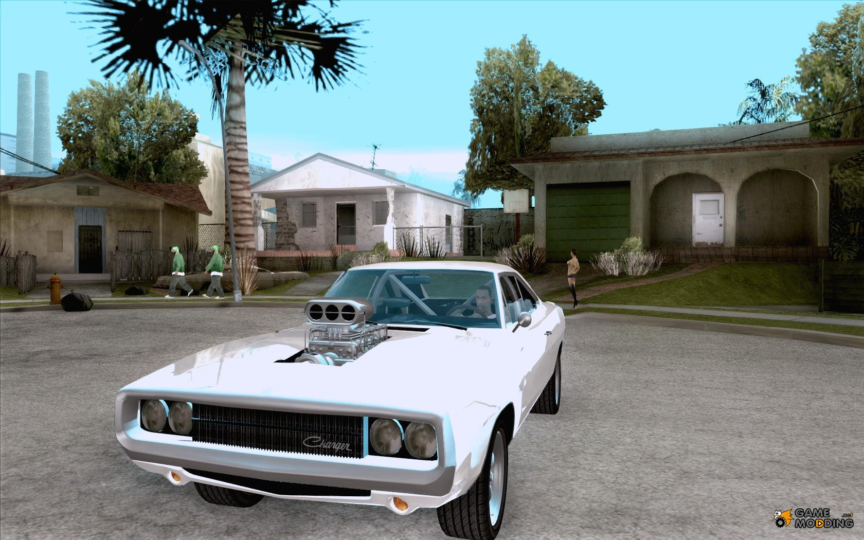 GTA 5 Cars in Fast and Furious Charger