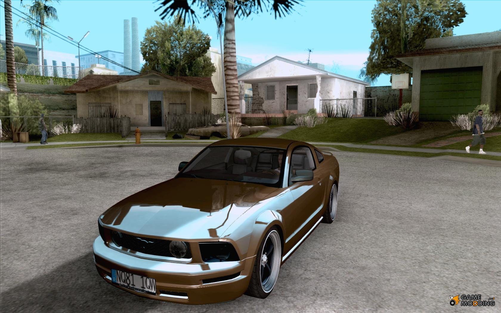 Ford mustang 2005 for gta san andreas inside view bed for Fenetre sale gta 5