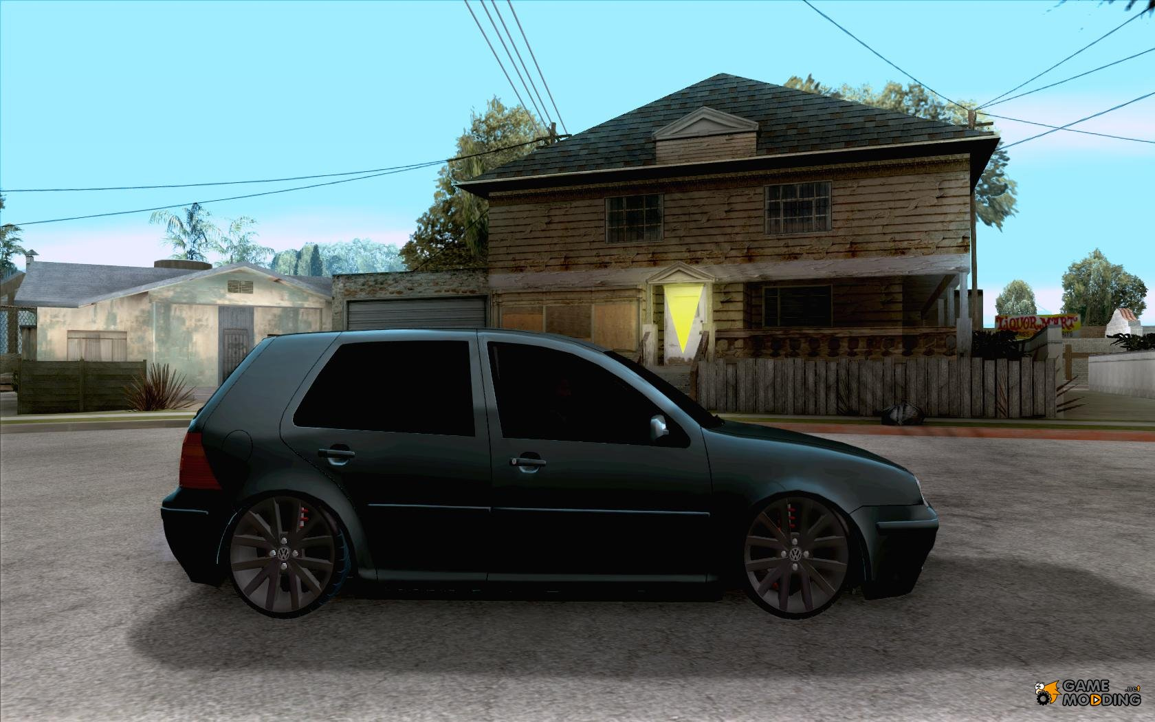 volkswagen golf iv for gta san andreas. Black Bedroom Furniture Sets. Home Design Ideas