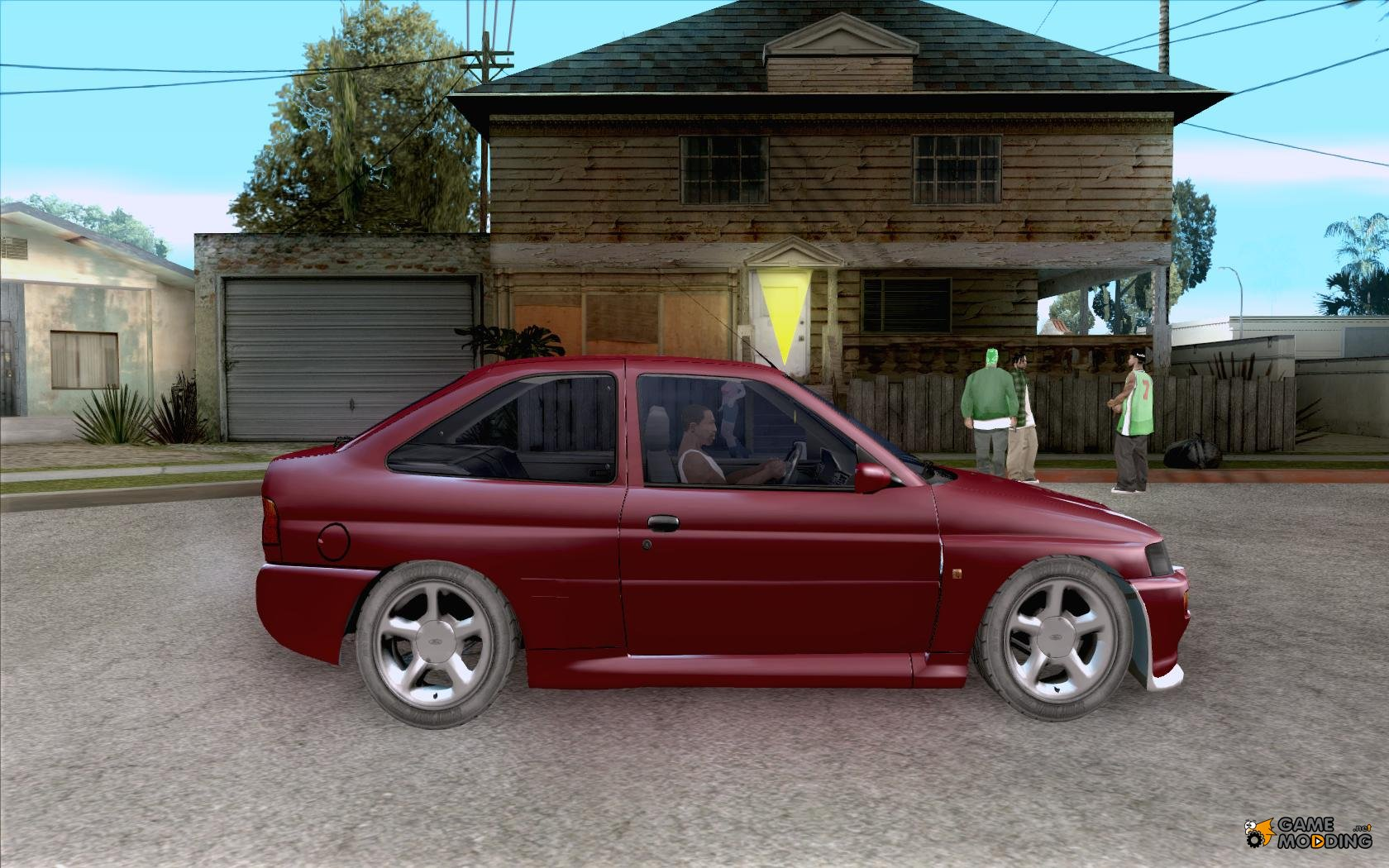ford escort rs cosworth for gta san andreas. Black Bedroom Furniture Sets. Home Design Ideas