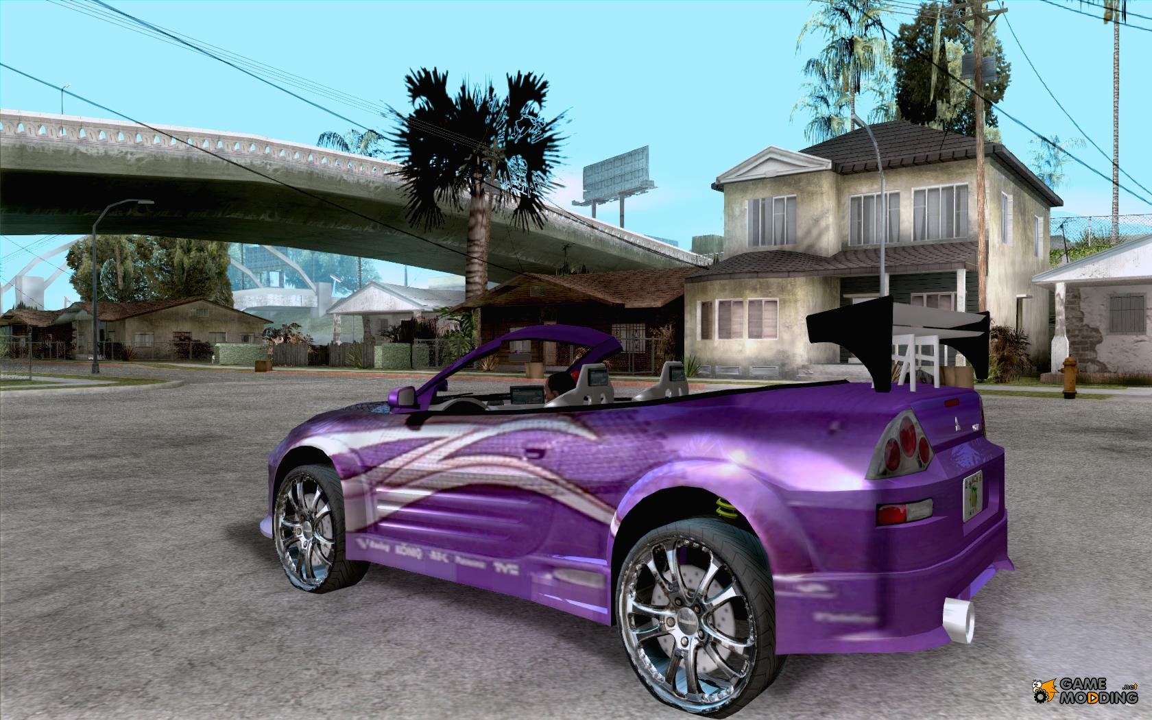 Mitsubishi Spyder 2Fast2Furious Cabriolet for GTA San Andreas