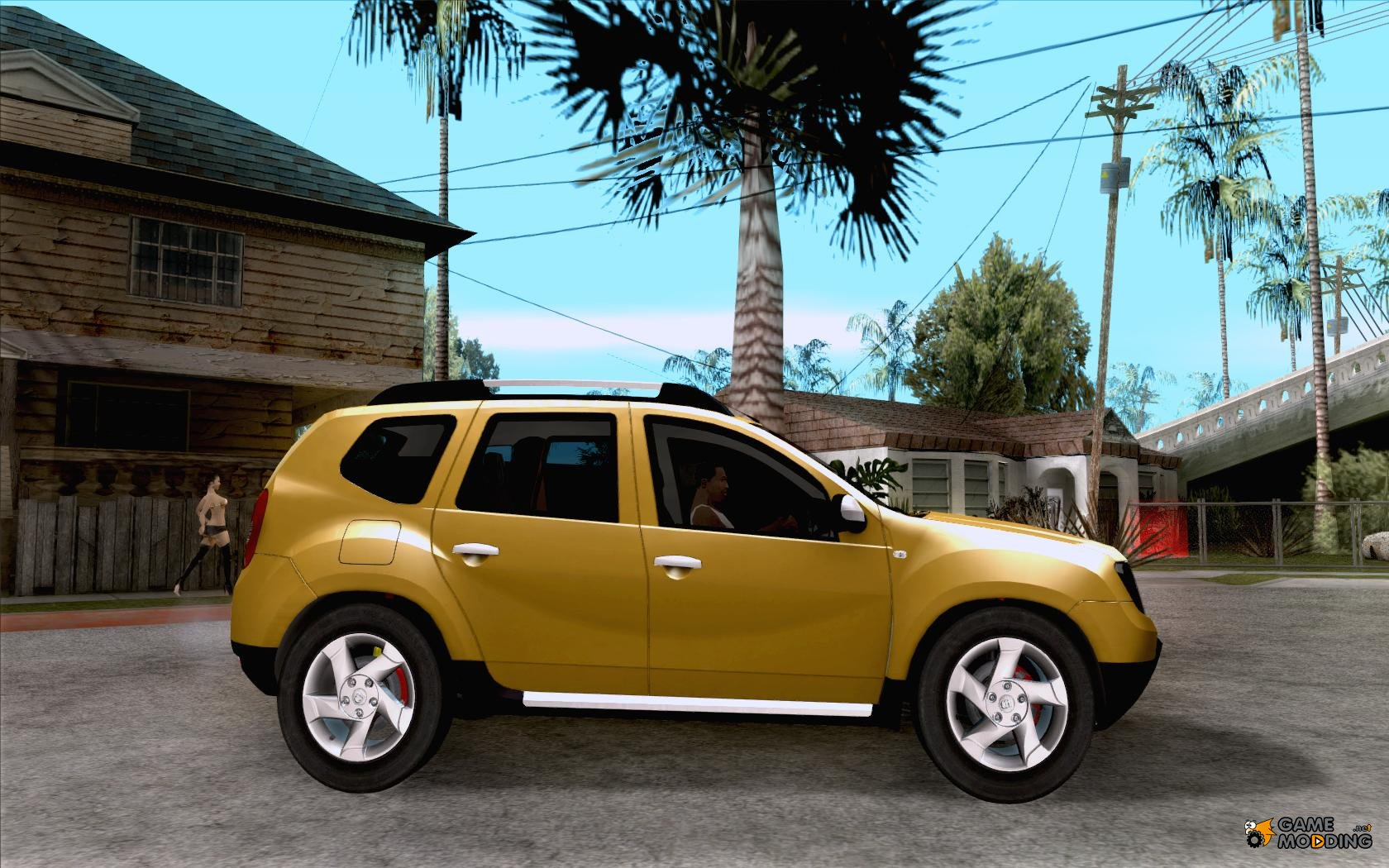dacia duster suv 4 x 4 2010 for gta san andreas. Black Bedroom Furniture Sets. Home Design Ideas