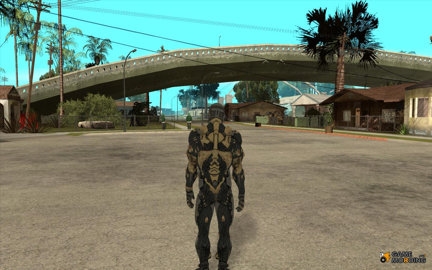 Crysis Skin For Gta San Andreas Inside View