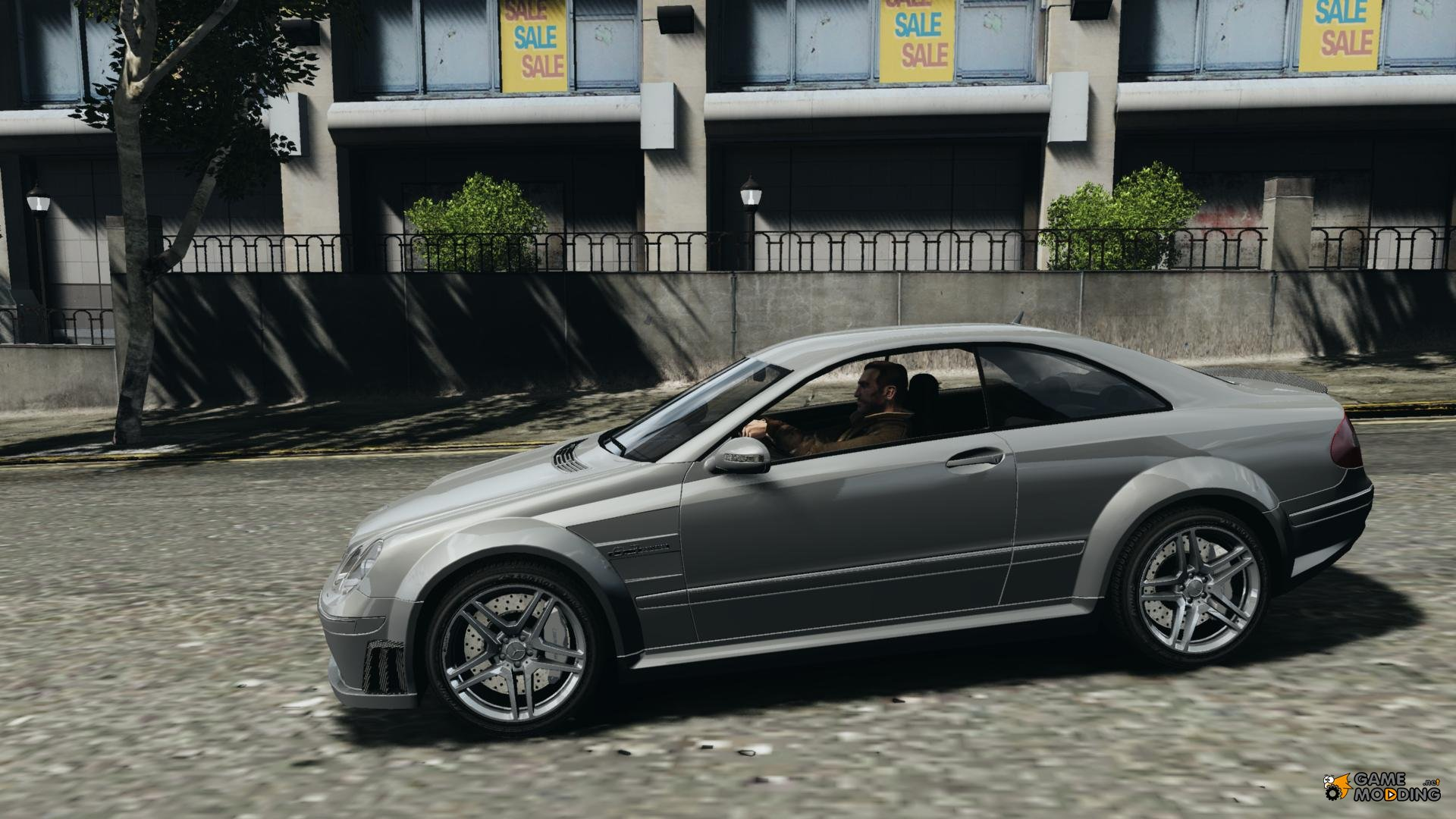 Mercedes benz clk63 amg black series 2007 for gta 4 for Mercedes benz series