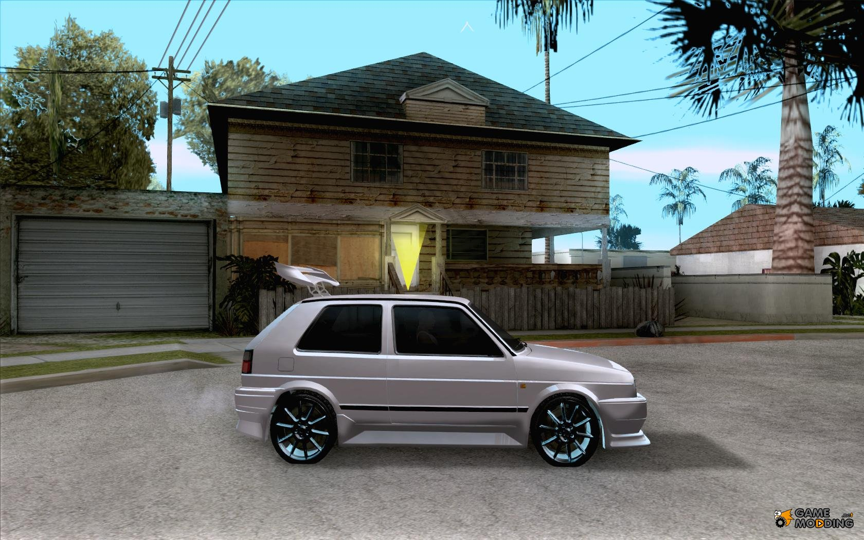 volkswagen golf 2 gti tuned for gta san andreas. Black Bedroom Furniture Sets. Home Design Ideas