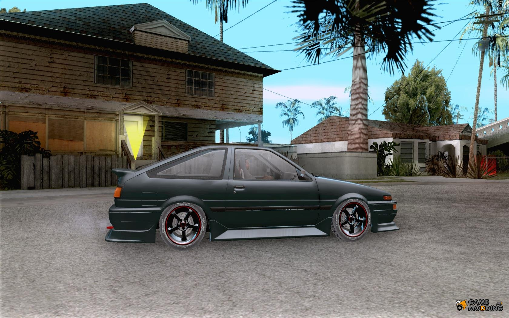 toyota sprinter trueno ae86 drift spec for gta san andreas. Black Bedroom Furniture Sets. Home Design Ideas