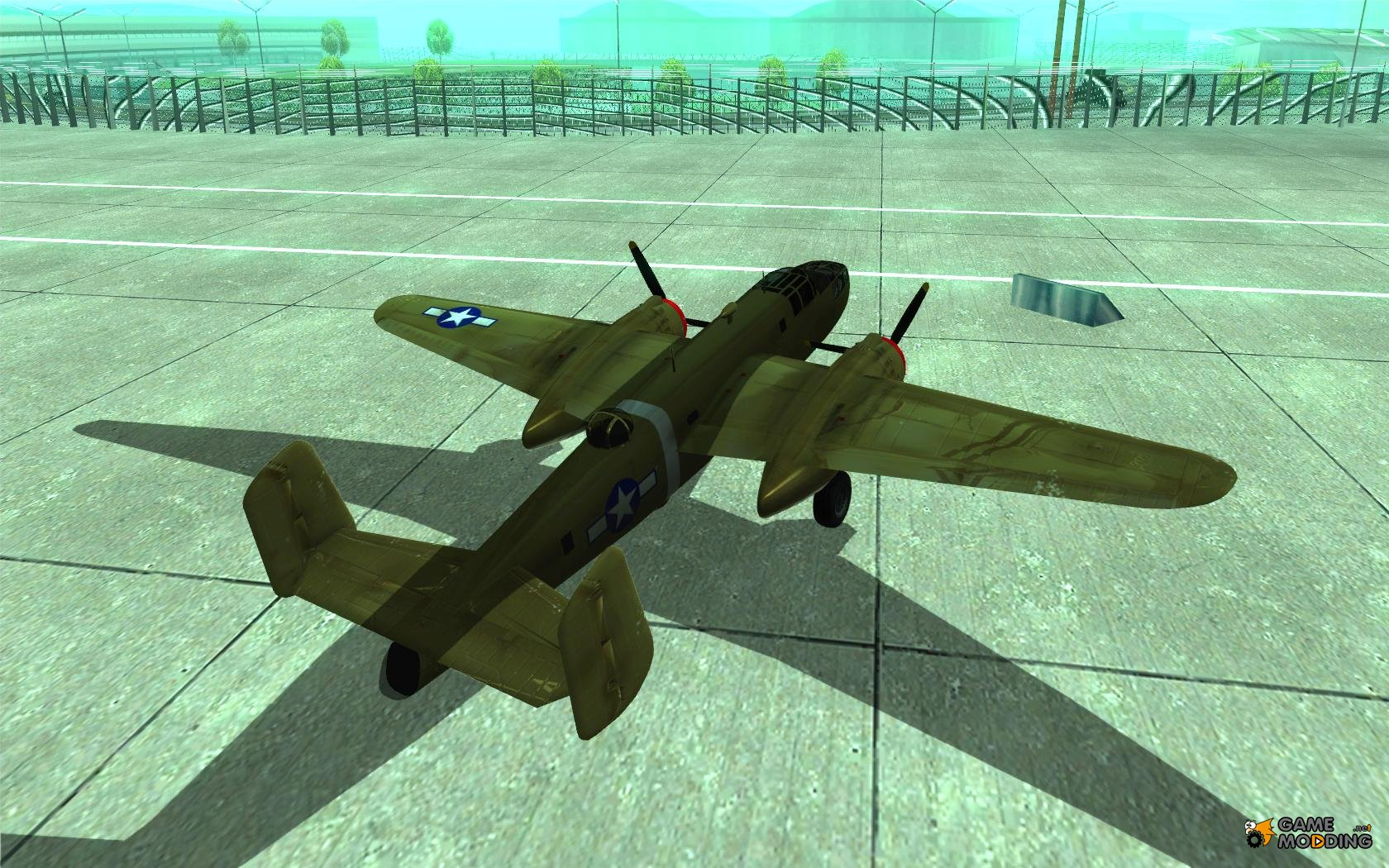 Cool Plane Propellers : B mitchell for gta san andreas