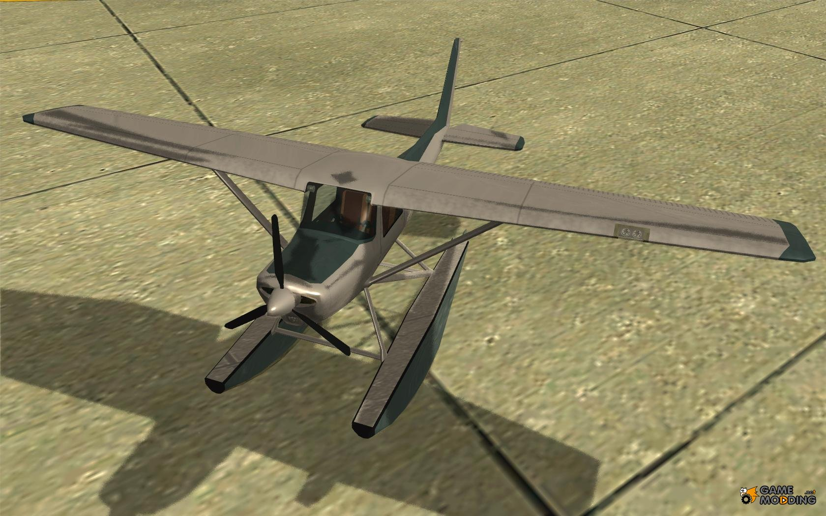 how to fly a skimmer in gta san andreas