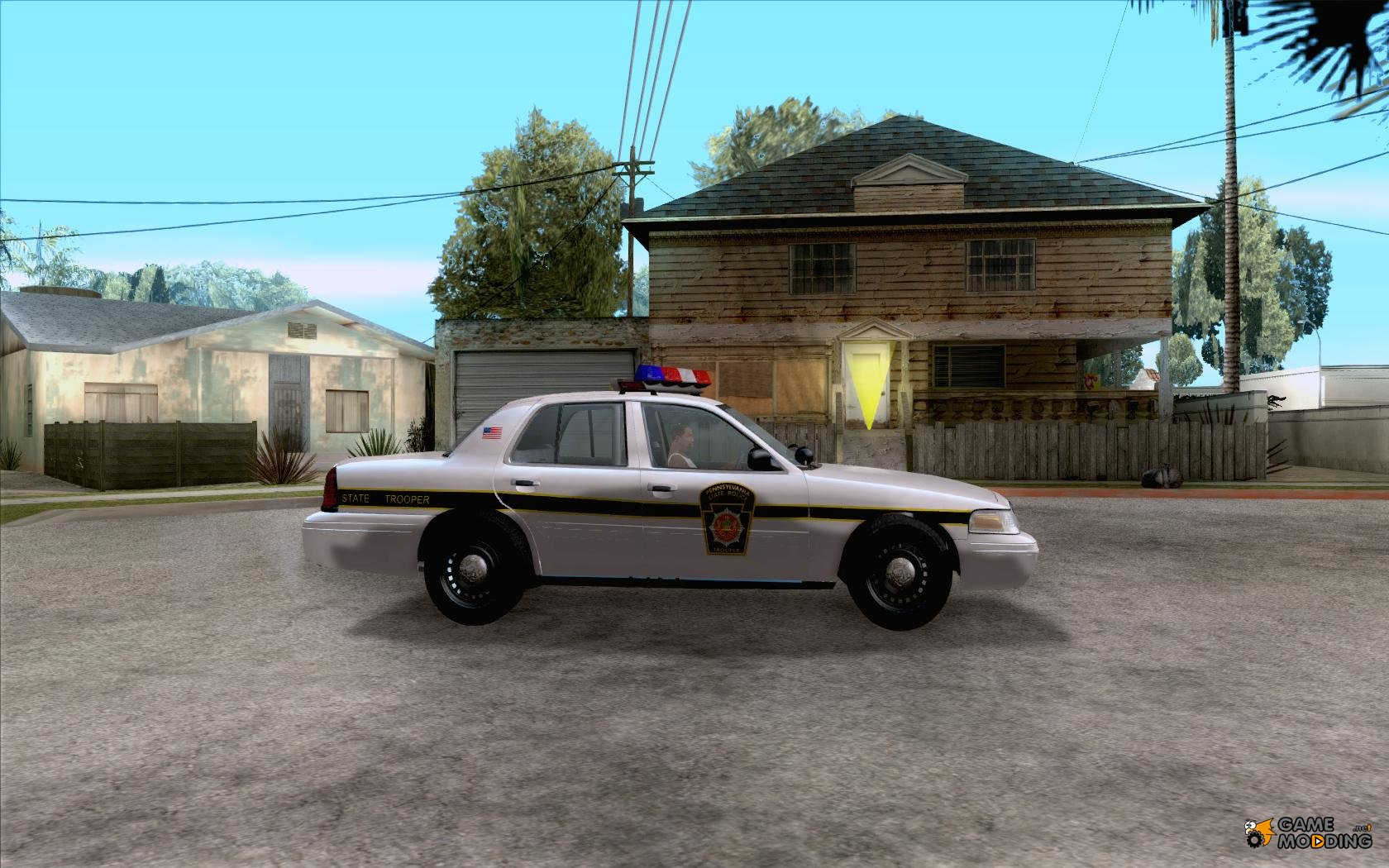 ford crown victoria pennsylvania police for gta san andreas. Black Bedroom Furniture Sets. Home Design Ideas