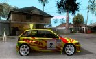 Seat Ibiza Rally for GTA San Andreas inside view