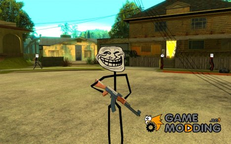 Meme Ivasion Mod for GTA San Andreas