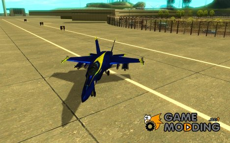 Blue Angels Mod (HQ) for GTA San Andreas