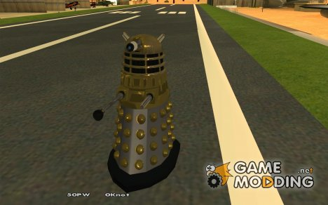Dalek Doctor Who for GTA San Andreas