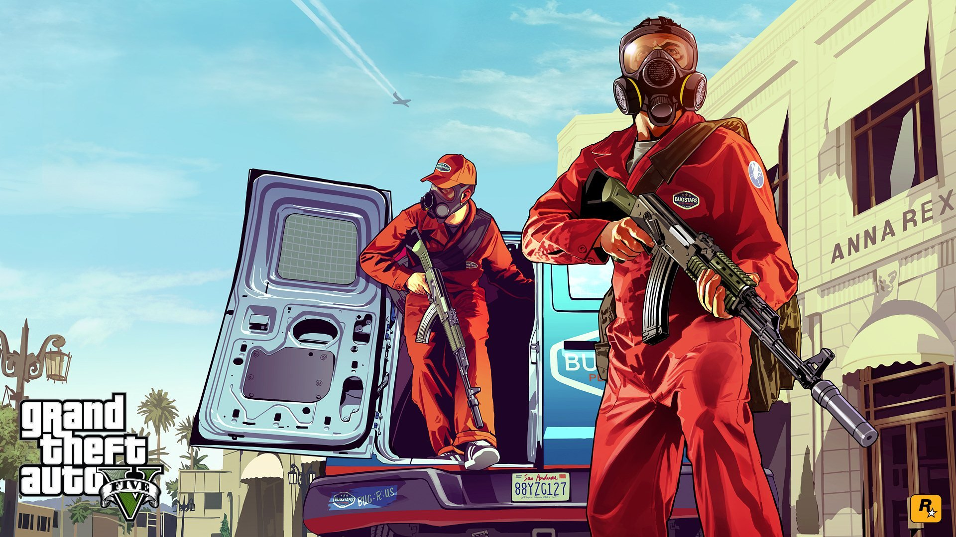 The first official art GTA V