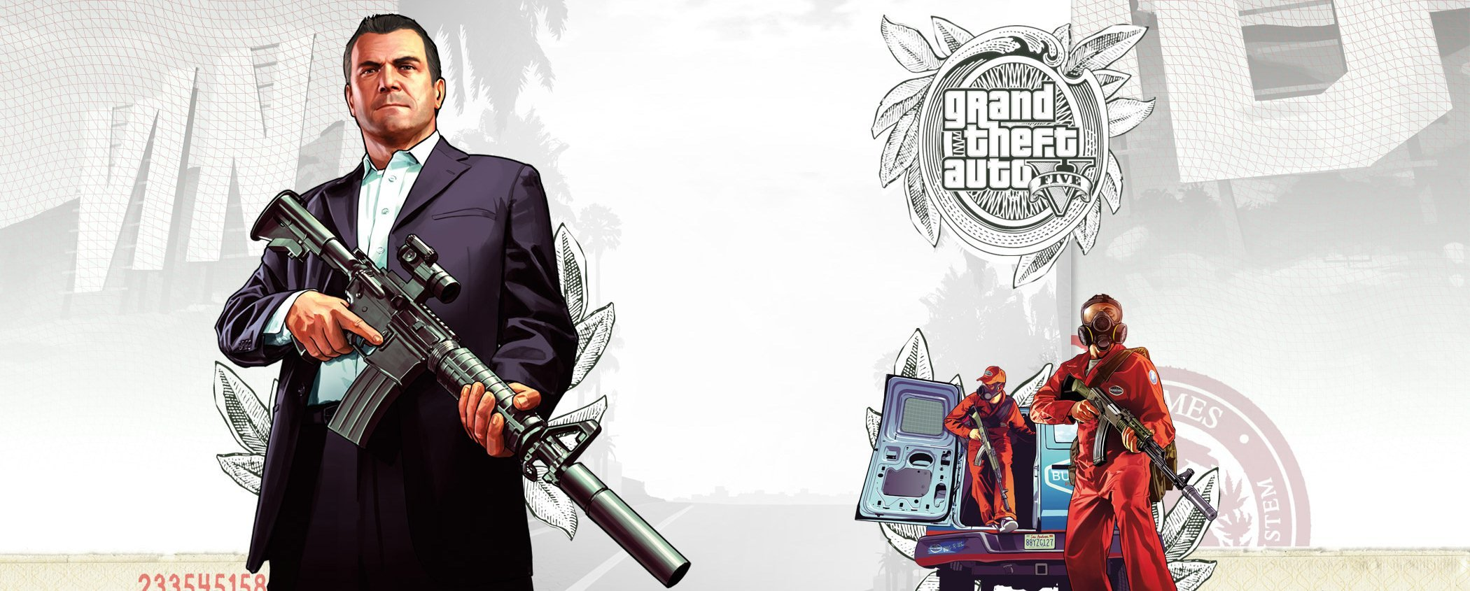 GTA 5 background art from Gameinformer