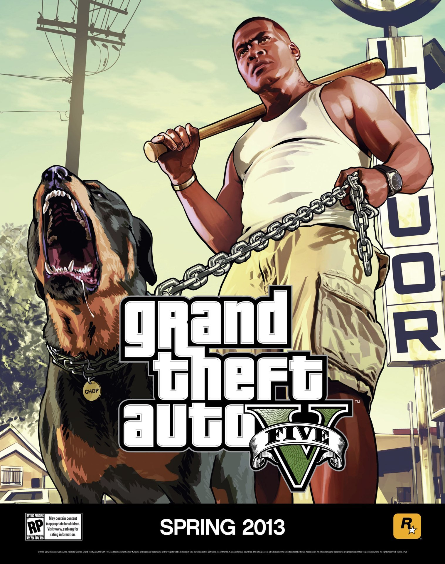 A couple of new posters for GTA 5