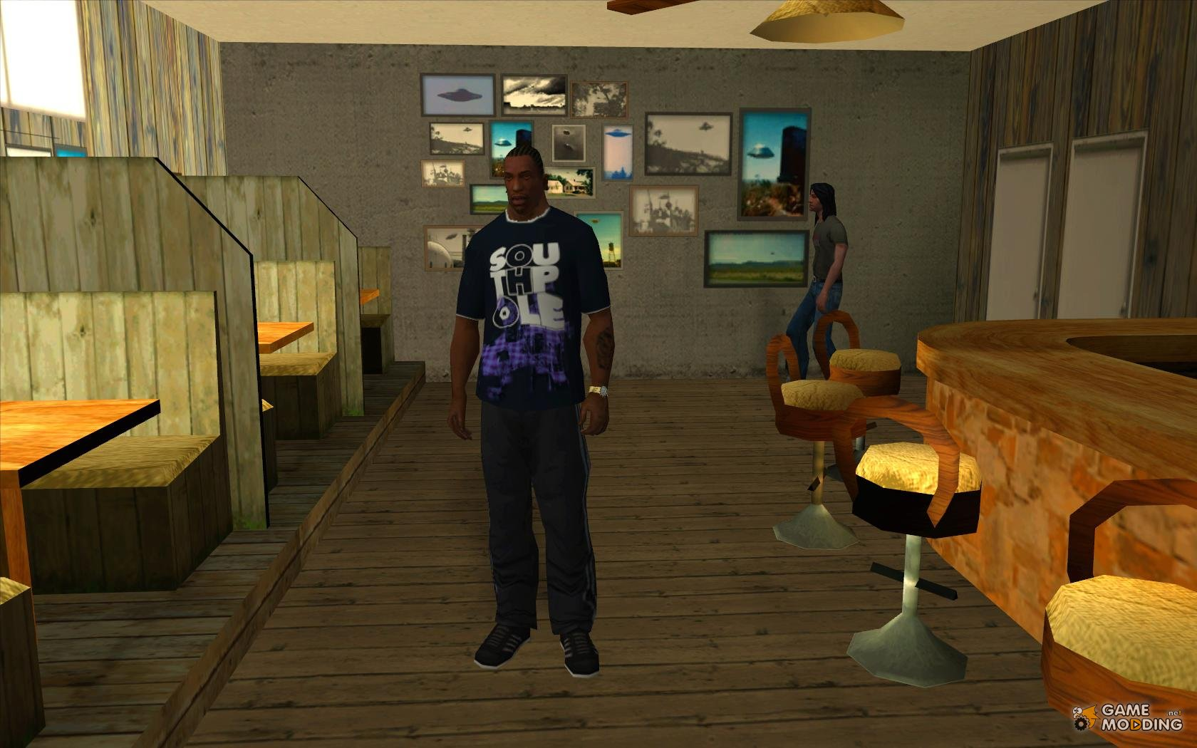 how to change clothes in gta san andreas