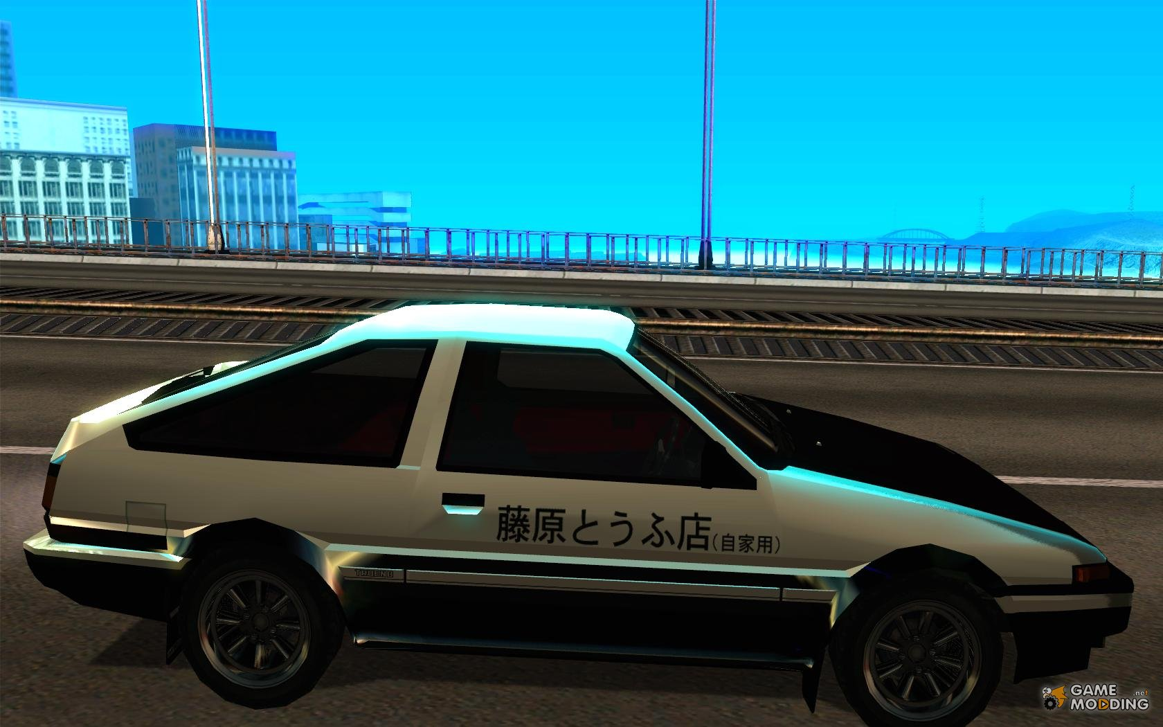 toyota sprinter trueno gt apex ae86 initial d 1983 for gta san andreas. Black Bedroom Furniture Sets. Home Design Ideas