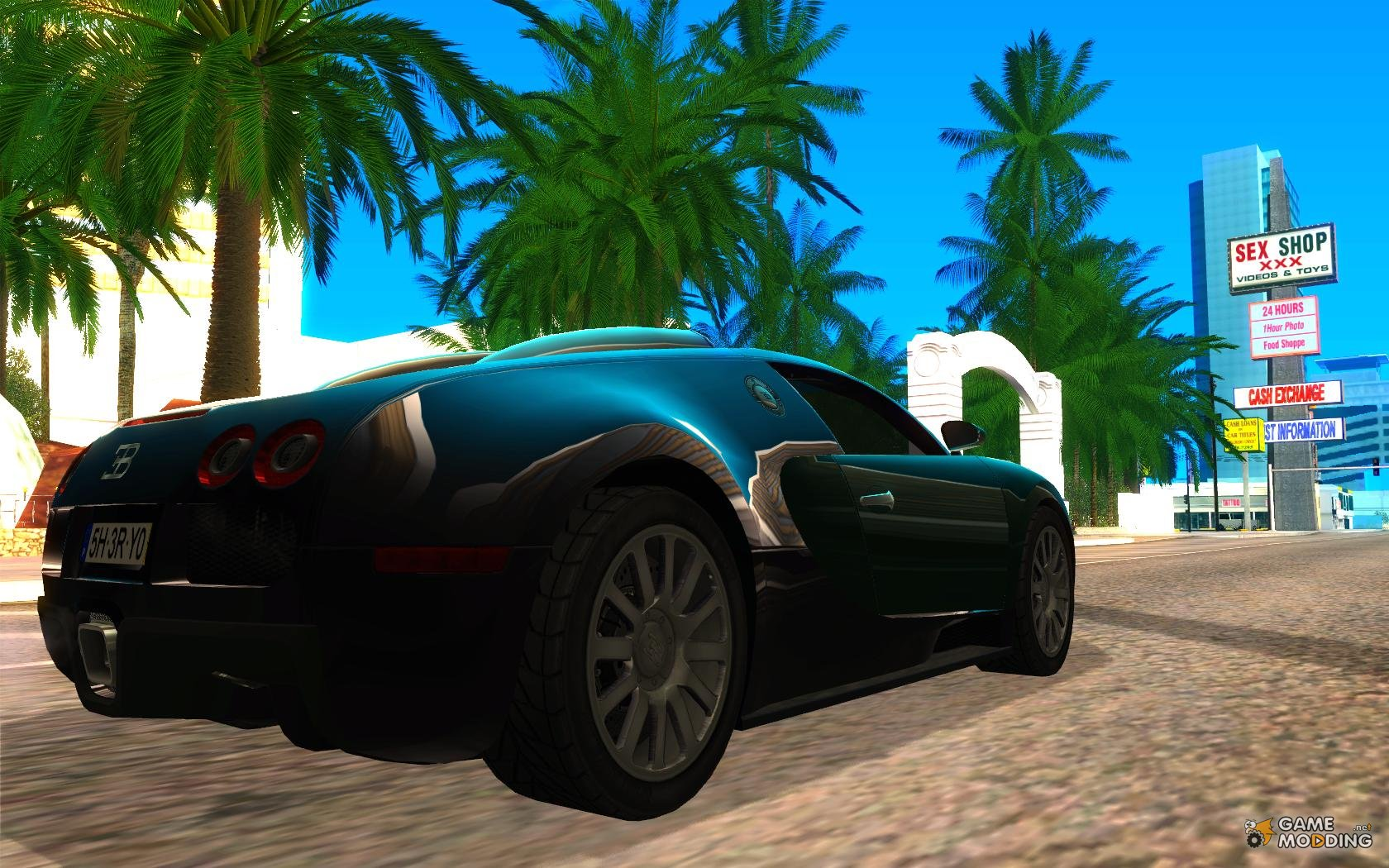 2005 bugatti veyron for gta san andreas. Black Bedroom Furniture Sets. Home Design Ideas