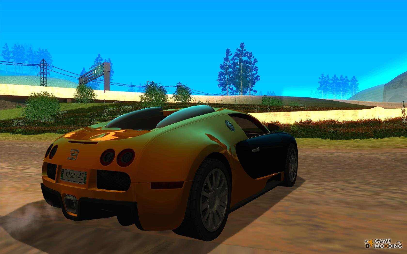 bugatti veyron v 1 0 for gta san andreas. Black Bedroom Furniture Sets. Home Design Ideas