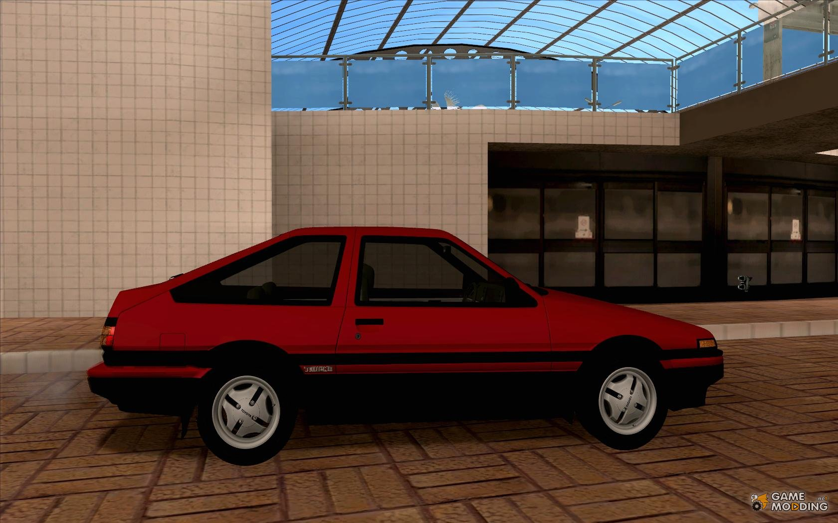 toyota ae86 sprinter trueno gt apex for gta san andreas. Black Bedroom Furniture Sets. Home Design Ideas
