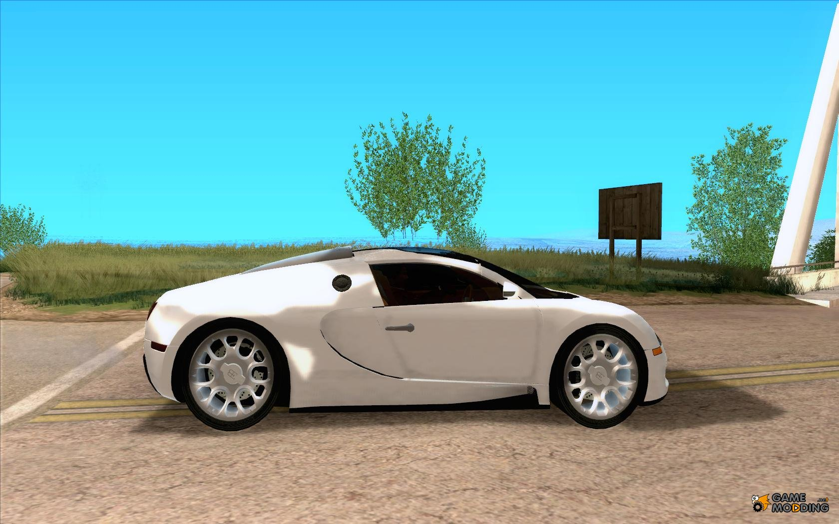 bugatti veyron grand sport for gta san andreas. Black Bedroom Furniture Sets. Home Design Ideas