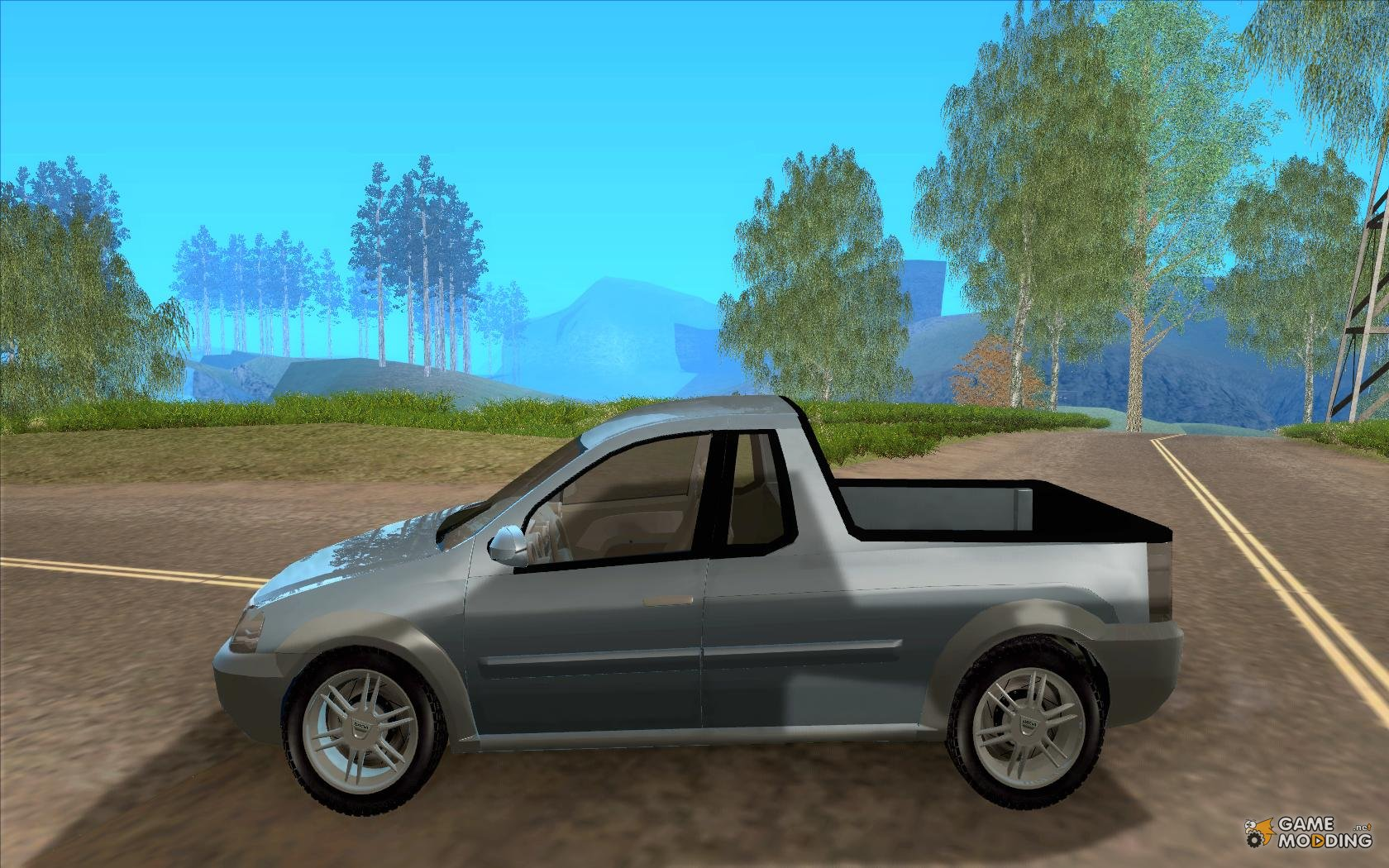 dacia logan pick up concept for gta san andreas. Black Bedroom Furniture Sets. Home Design Ideas