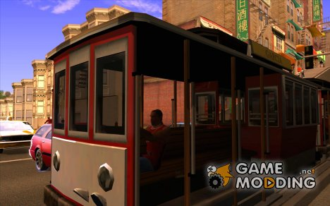 Clever Trams for GTA San Andreas