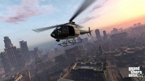 Two new screenshots of GTA 5