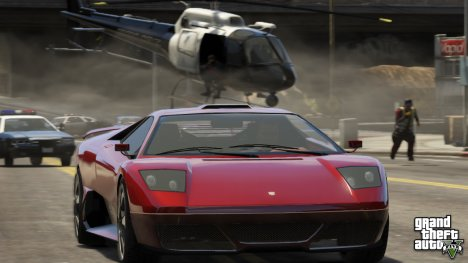 Four new screenshots of GTA 5 (business)