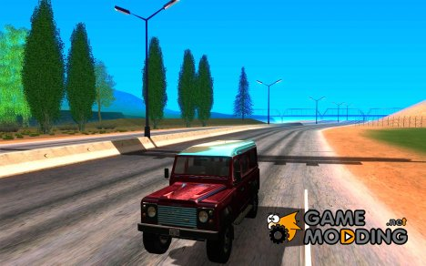 Land Rover Defender 110SWдля GTA San Andreas