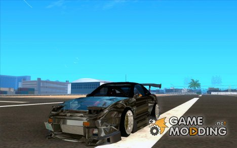 Nissan 180SX Gkon - Drift chrome for GTA San Andreas