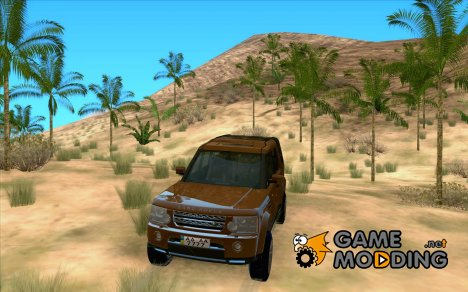 Land Rover Discovery 4для GTA San Andreas