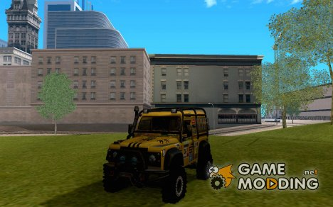 Land Rover Defender Off-Roadдля GTA San Andreas