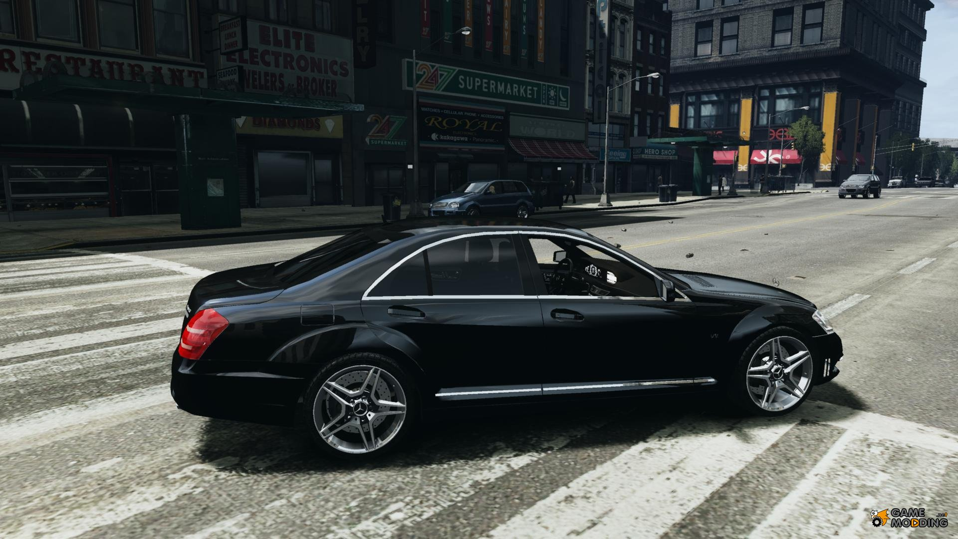 Mercedes benz s65 amg 2011 for gta 4 for Mercedes benz amg s65