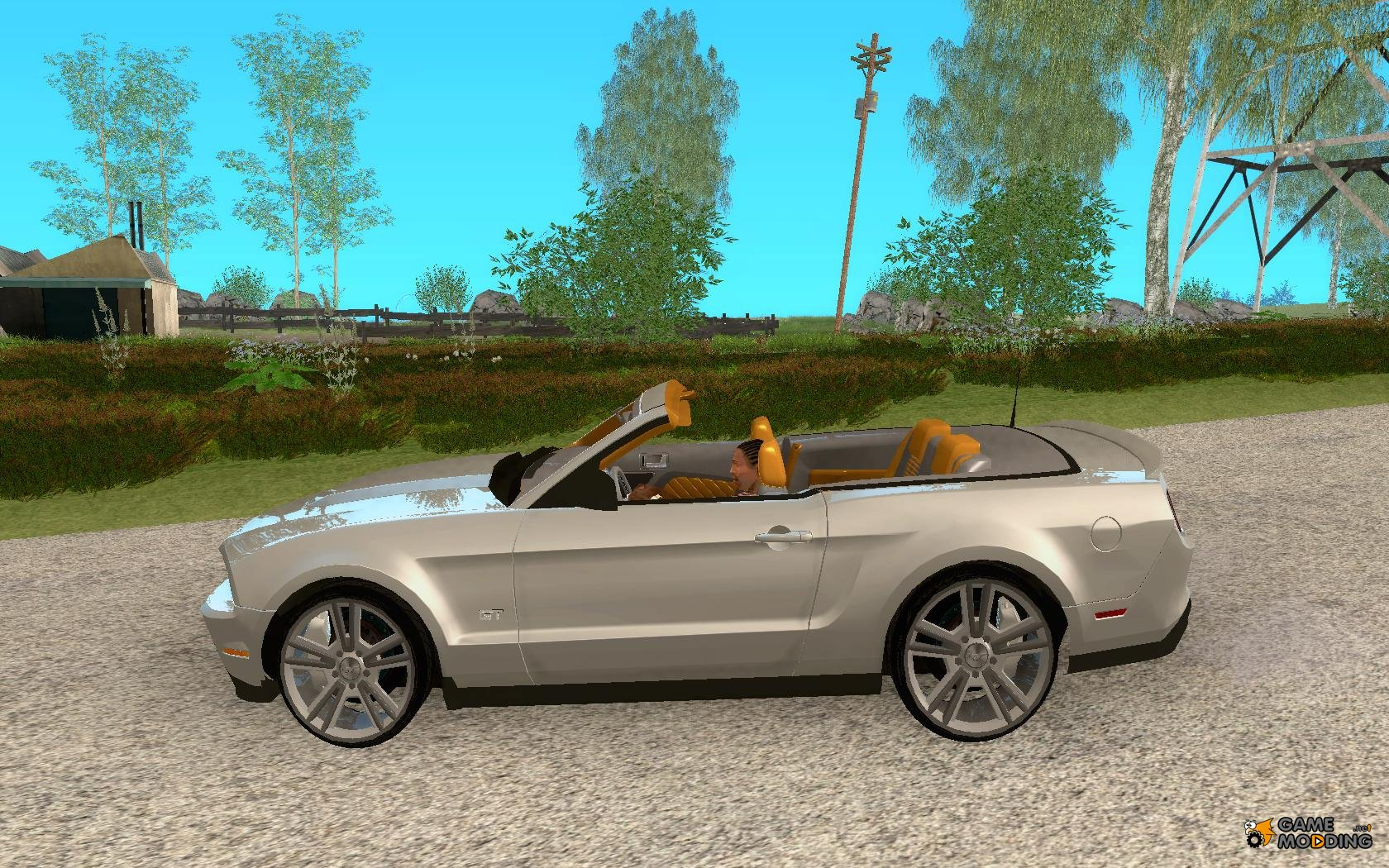 2011 ford mustang convertible for gta san andreas. Black Bedroom Furniture Sets. Home Design Ideas