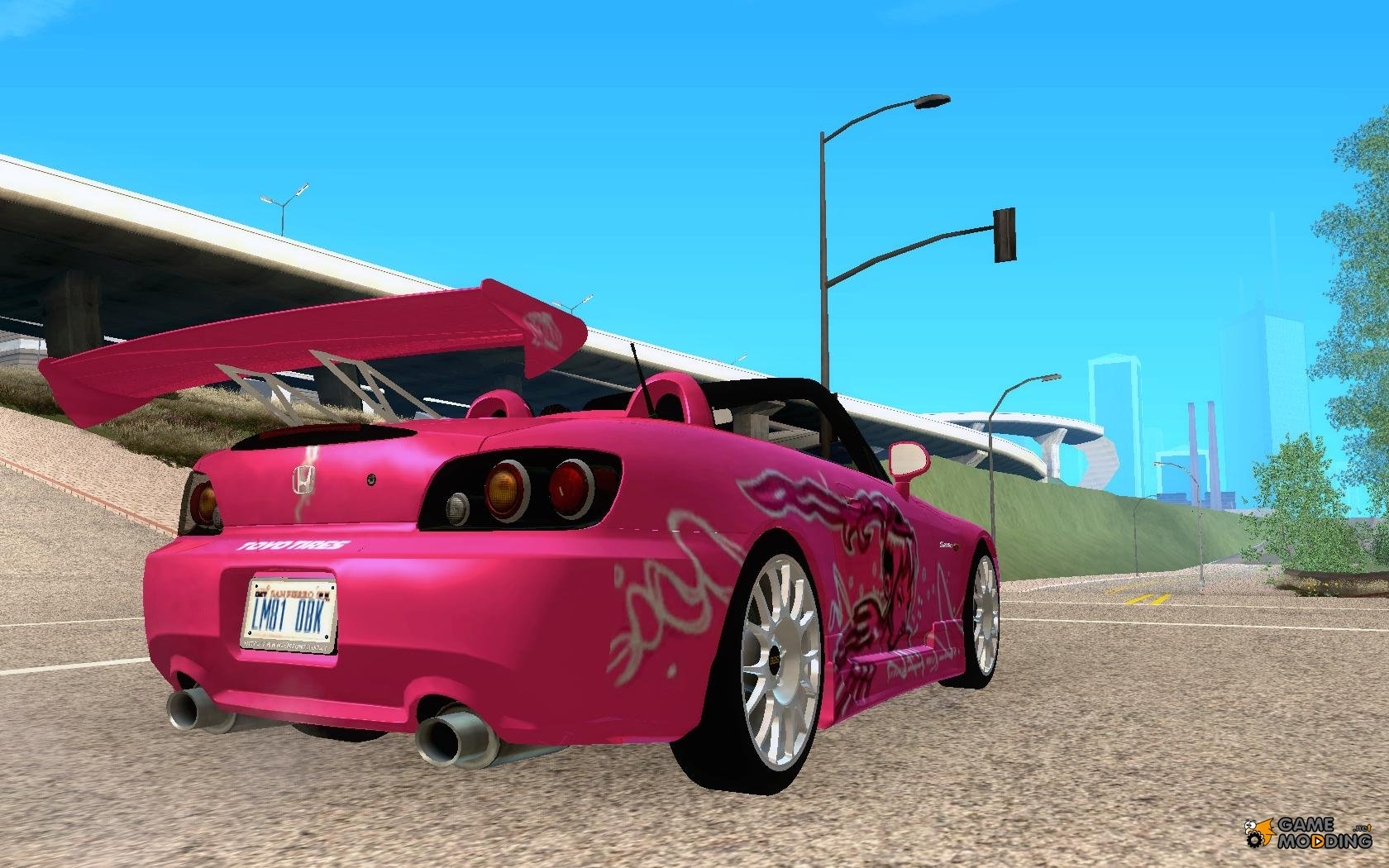 honda s2000 the fast and the furious 2 for gta san andreas. Black Bedroom Furniture Sets. Home Design Ideas