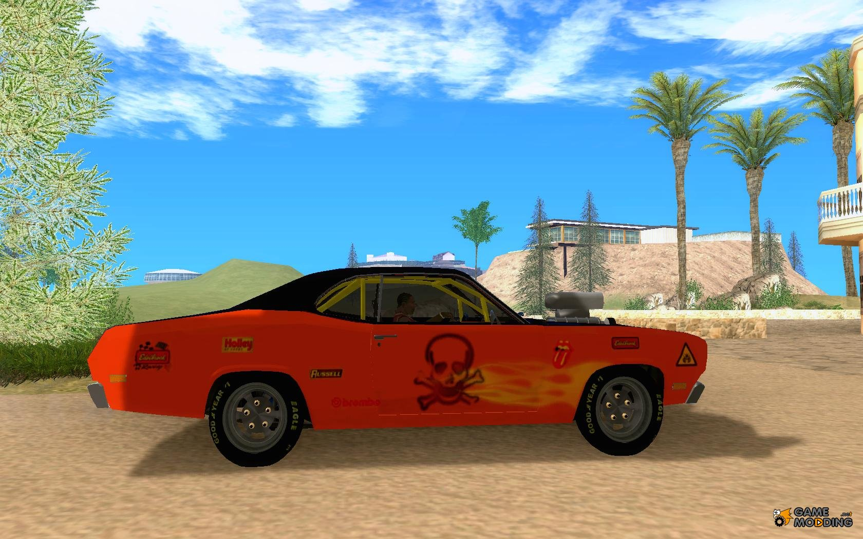 plymouth duster 440 for gta san andreas. Black Bedroom Furniture Sets. Home Design Ideas