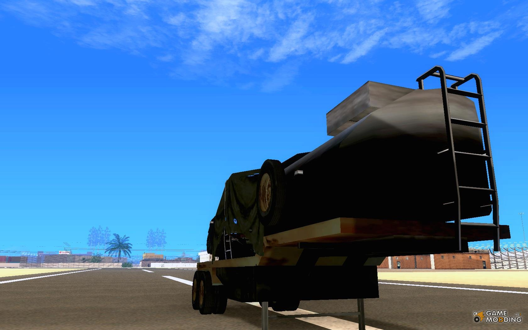 Trailer for Armored Mack Fuel Truck Titan for GTA San Andreas